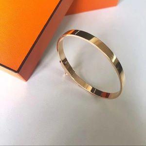 ❤️ Hermes 750 rose gold bracelet❤️